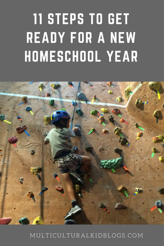 11 Steps to Get Ready for a New Homeschool Year