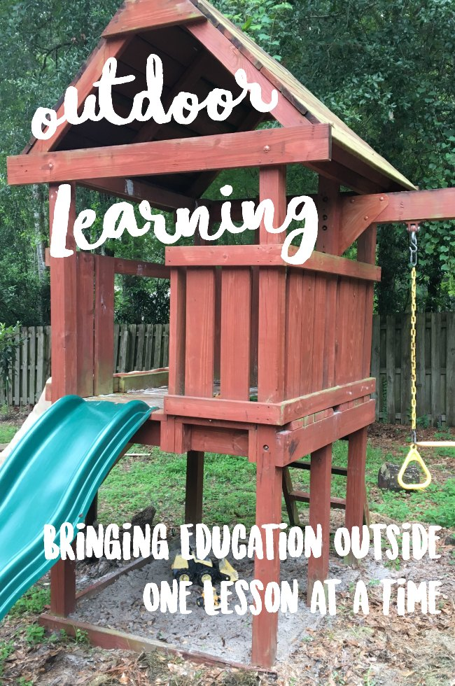 outdoor learning, Bringing Education Outside One Lesson at a Time