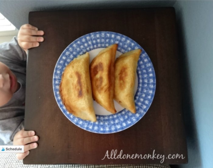 Costa Rican Cheese Empanadas Recipe
