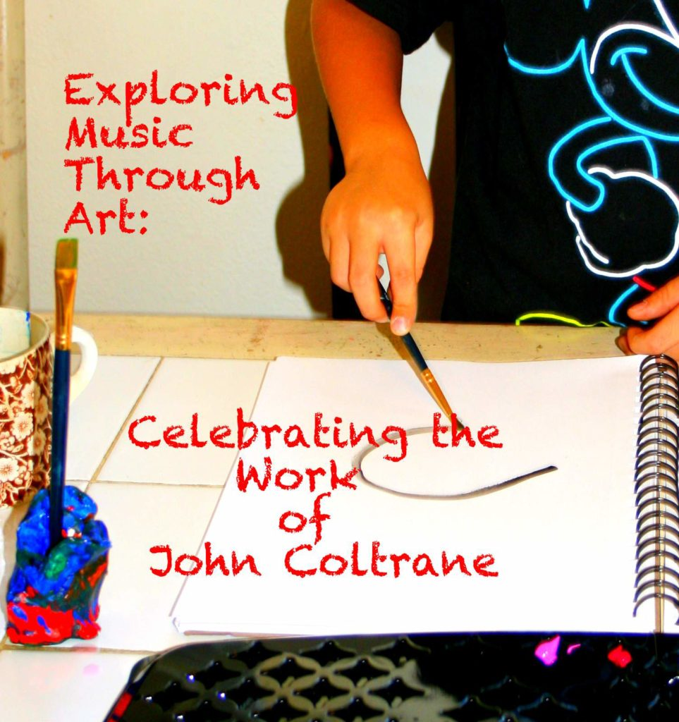 Exploring Music Through Art: Celebrating the Work of John Coltrane | Multiculturalkidblogs.com