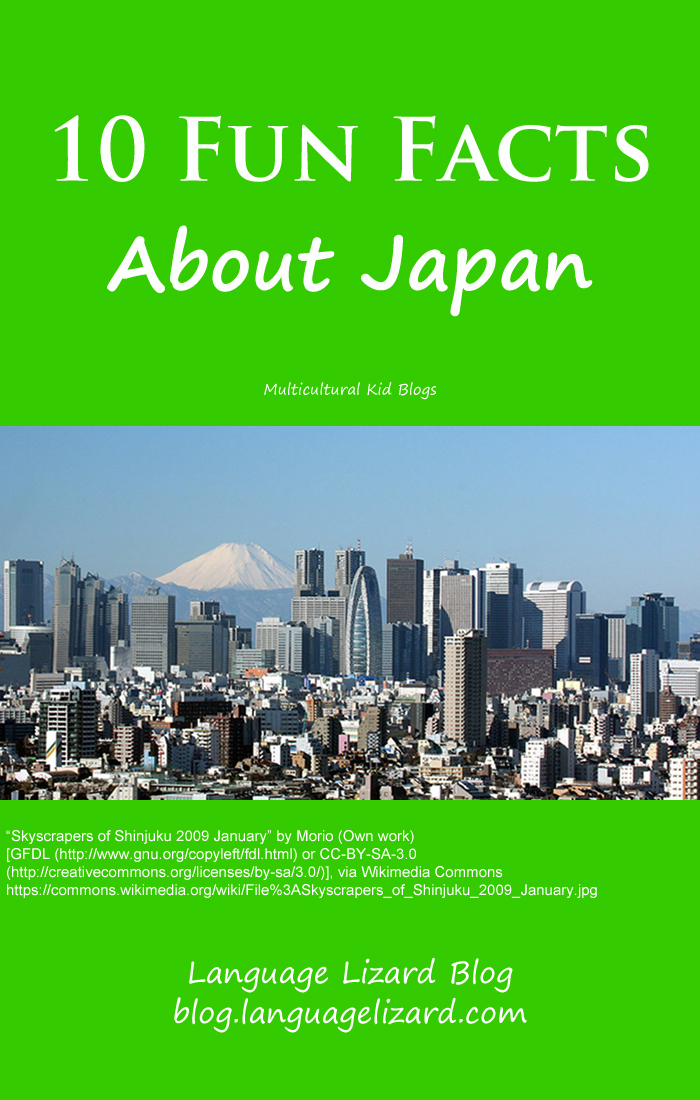 10 Fun Facts About Japan | Multicultural Kid Blogs