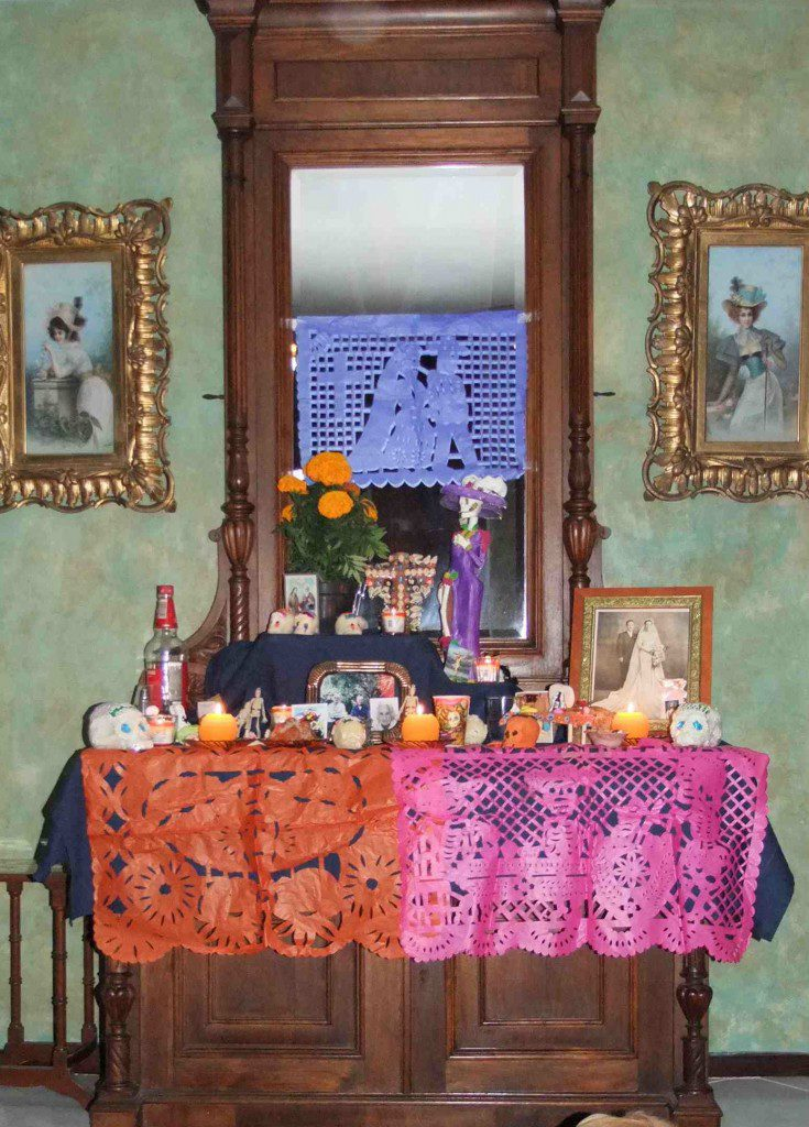 tissue paper decoration Components of a Day of the Dead Altar   Multicultural Kid Blogs