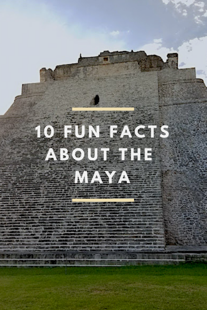 10 Fun Facts about the Maya