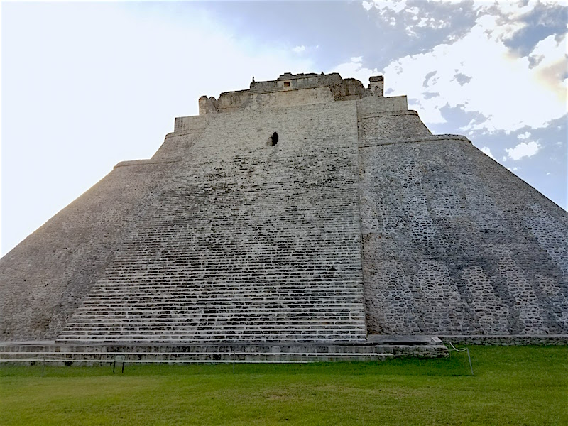 Mayan city of Uxmal