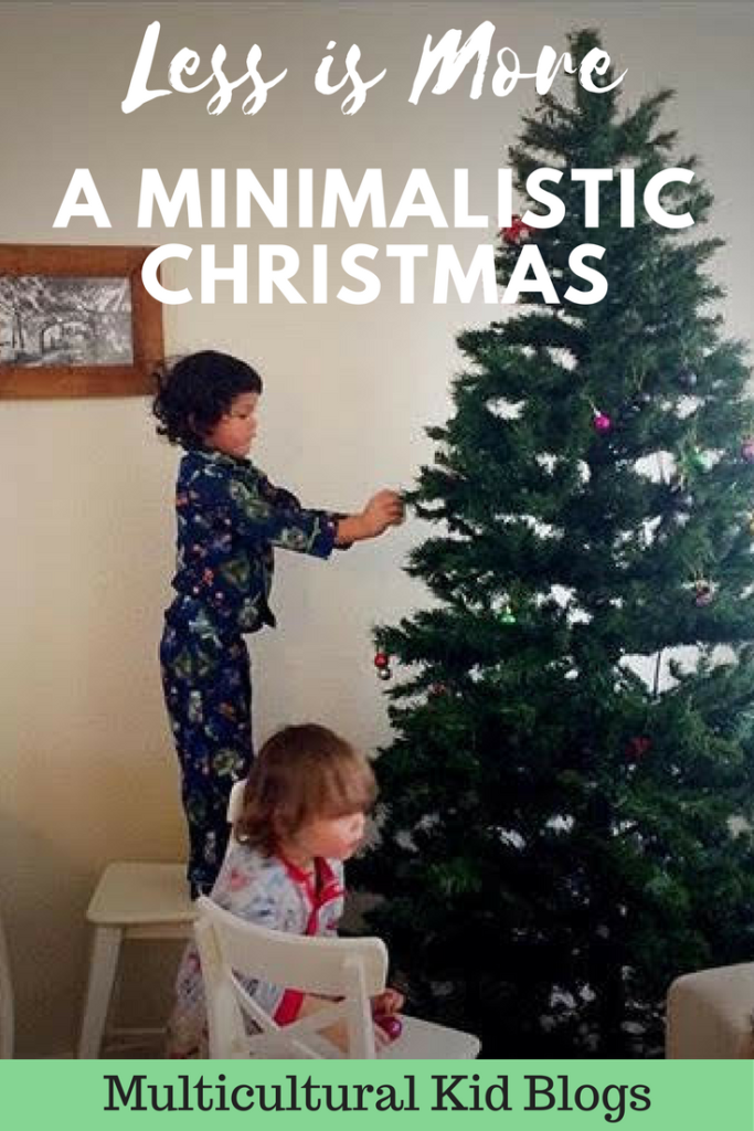 Less is More – A Minimalistic Christmas