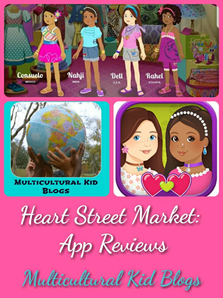 Multicultural App Review: Heart Street Market | Multicultural Kid Blogs