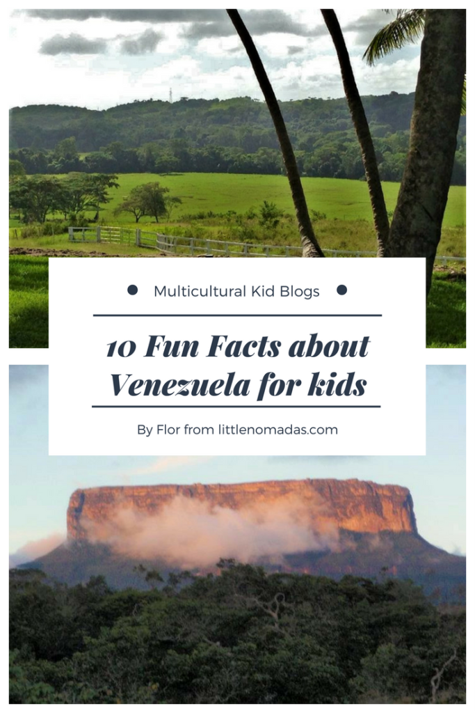 10 Fun Facts about Venezuela for kids. Find our more about this fascinating South American country!