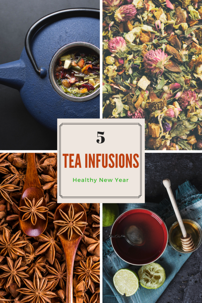 5 Homemade Tea Infusions to Brew a Healthy New Year