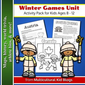 Winter Games Unit Activity Pack | Multicultural Kid Blogs
