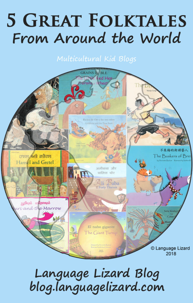 5 Folktales for World Folktales and Fables Week