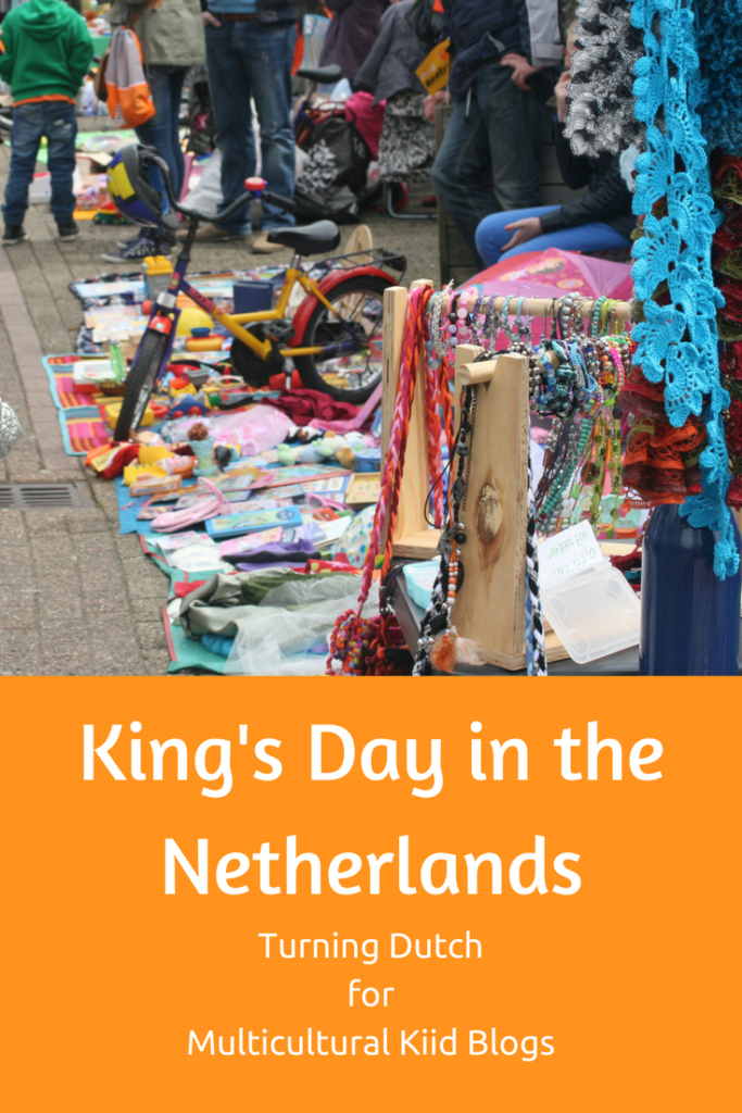 Celebrating King's Day in the Netherlands