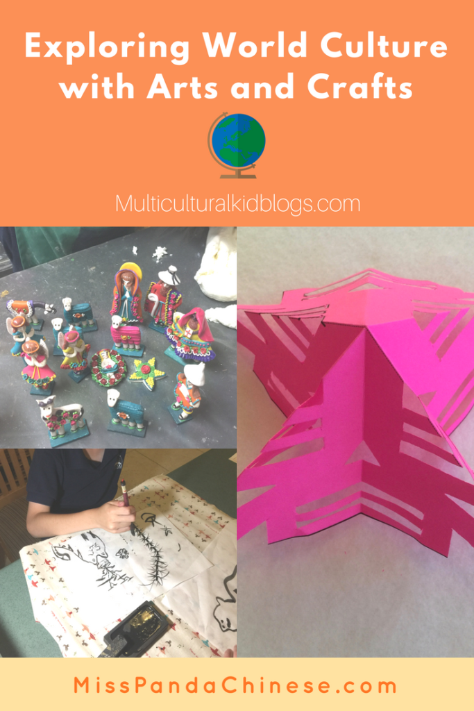 exploring world culture with arts and crafts Multicultural Kid Blogs | Miss Panda Chinese