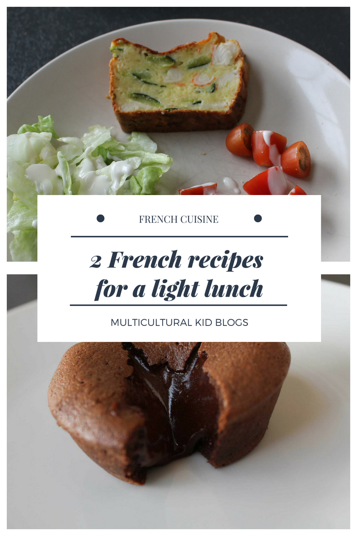 2 French recipes for a light lunch