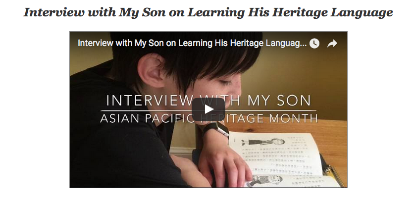 pass on your heritage language and culture | Multicultural Kid Blogs