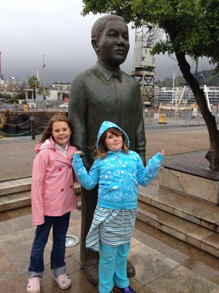 Nelson Mandela Cape Town Nobel Square