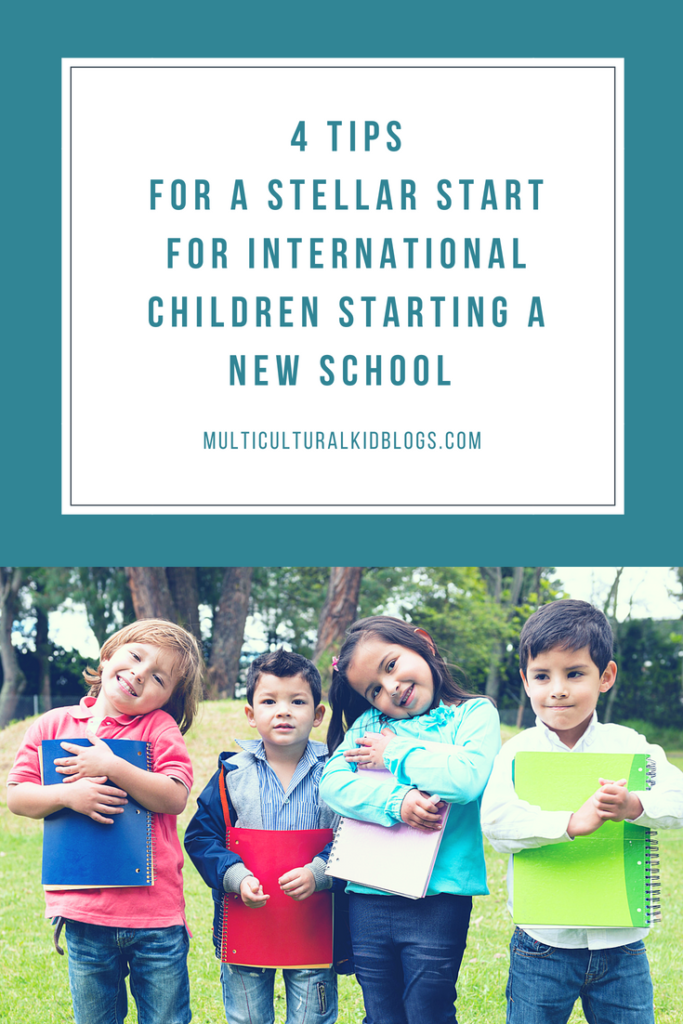 4 Tips for a Stellar Start for International Children Starting a New School