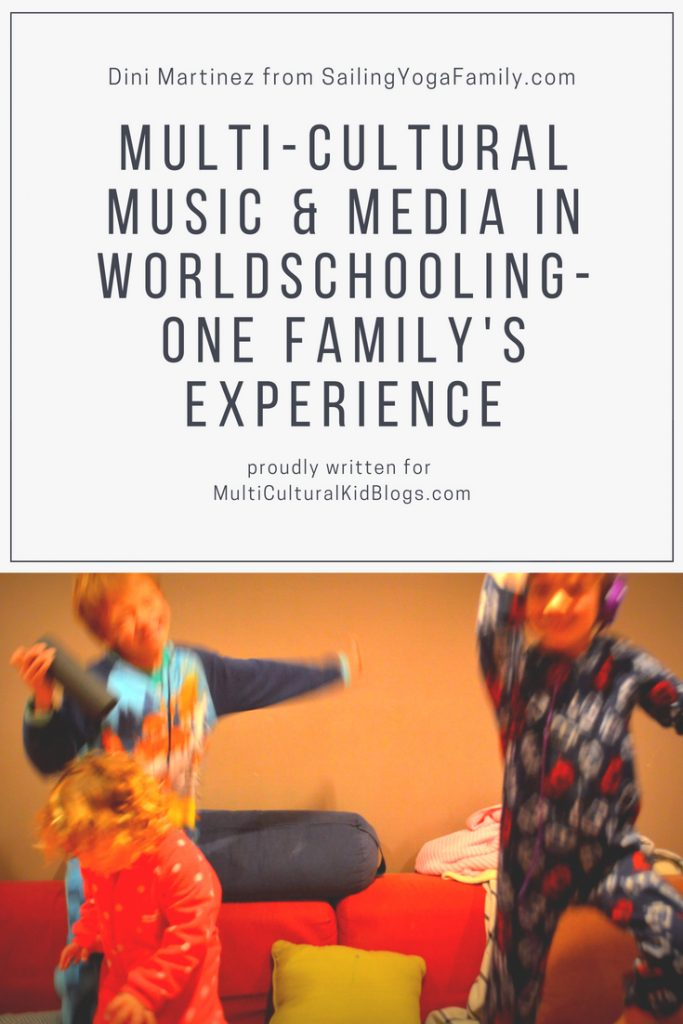 Multicultural music and media – our experience with world-schooling