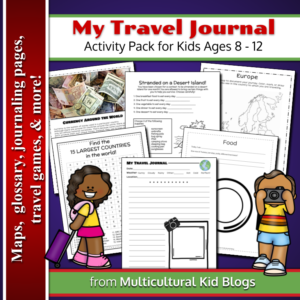 International Travel Journal for Kids | Multicultural Kid Blogs