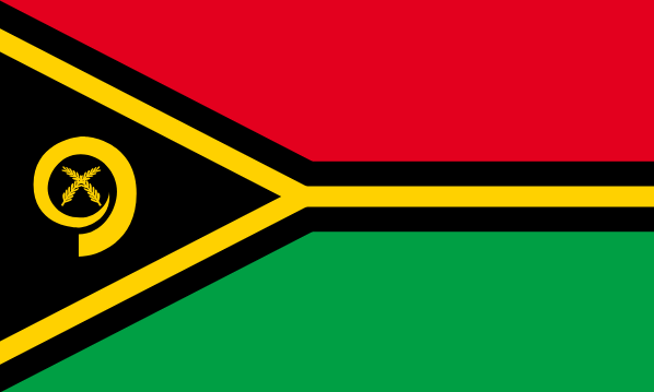 Vanuatu flag | 10 Fun Facts about Vanuatu for Kids