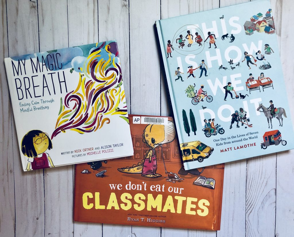 Diverse Back-to-School Picture Books