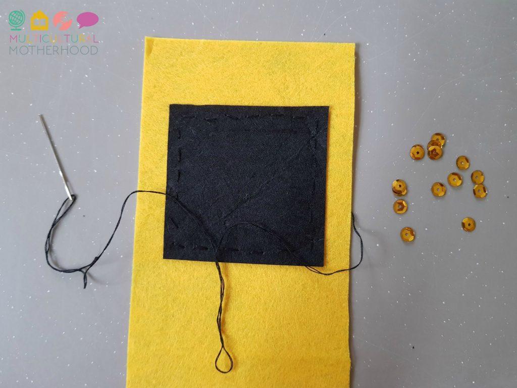 Kaaba gift bag: step two | MKB