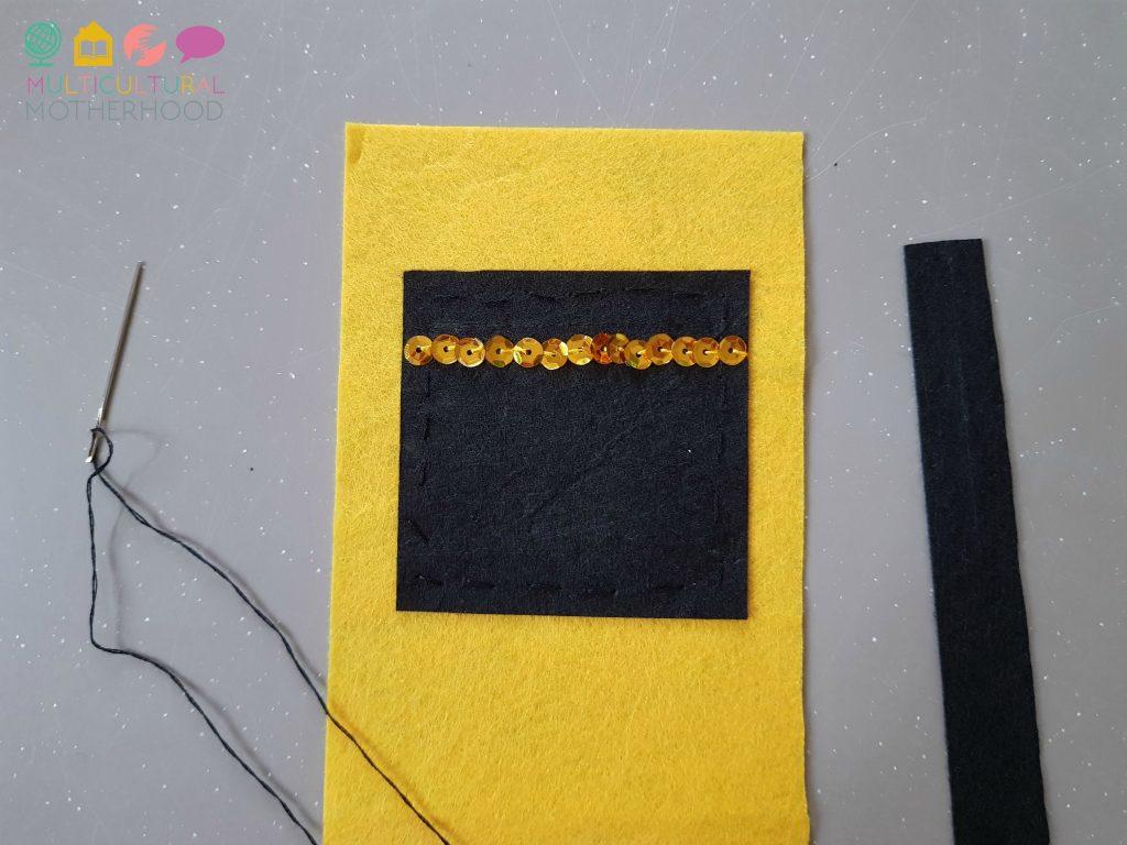 Kaaba gift bag: step three | MKB