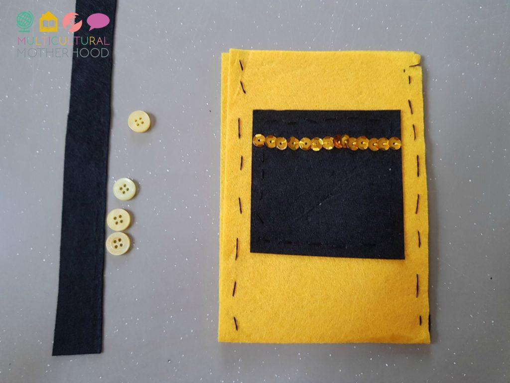 Kaaba gift bag: step four | MKB