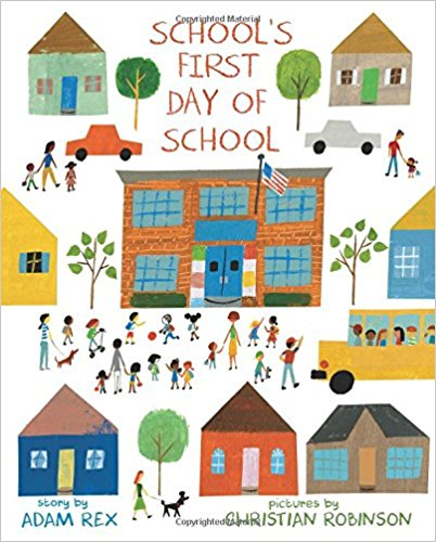 School's First Day of School cover