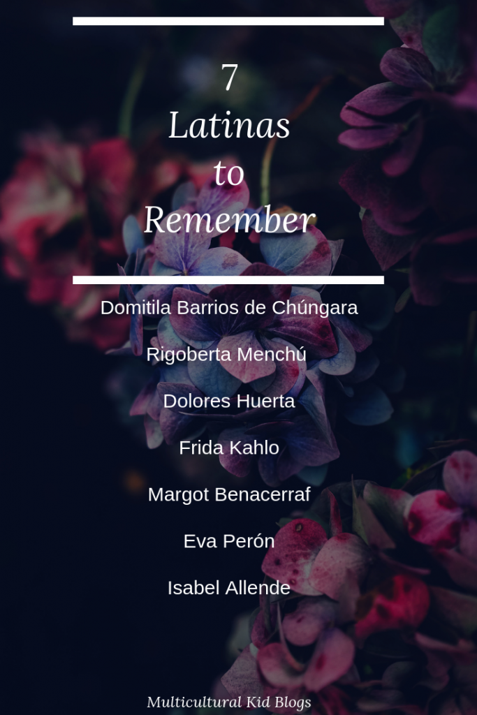 7 Latinas to Remember