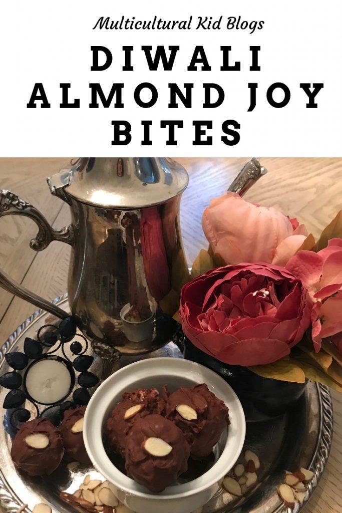 Diwali Almond Joy Bites Recipe