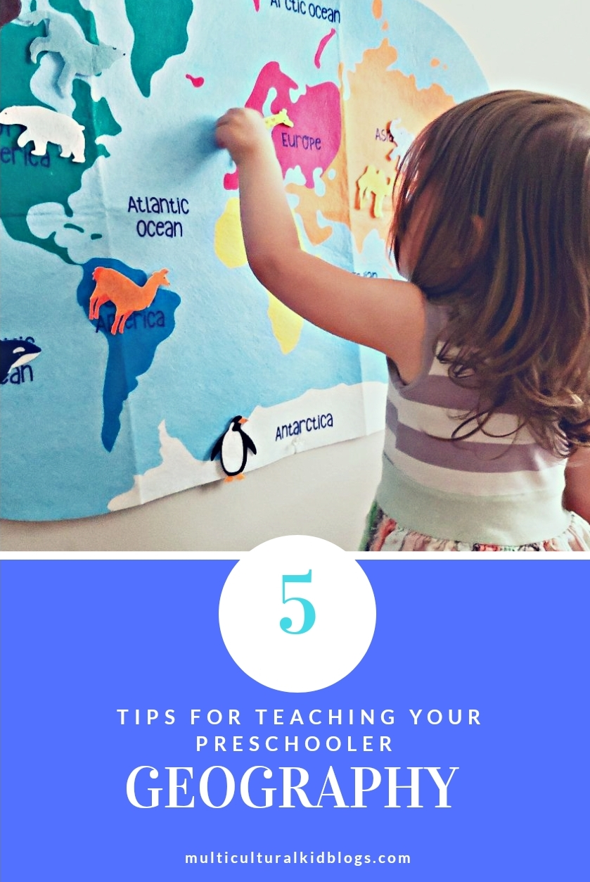 Tips for teaching your preschooler geography