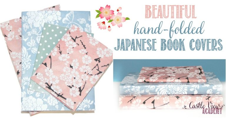 Beautiful Hand-Folded Japanese Book Covers from Castle View Academy