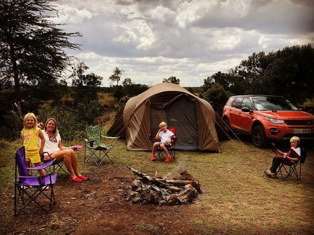 bush camping in kenya