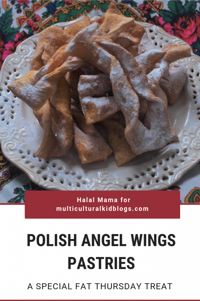 "Polish Angel Wings Pastries: ""Chrust"" or ""Faworki"""