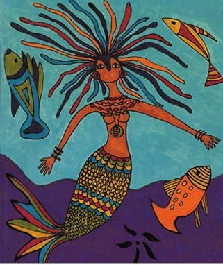 Mamy Wata illustration   World Folk Tales and Tables Week   Multicultural Kid Blogs