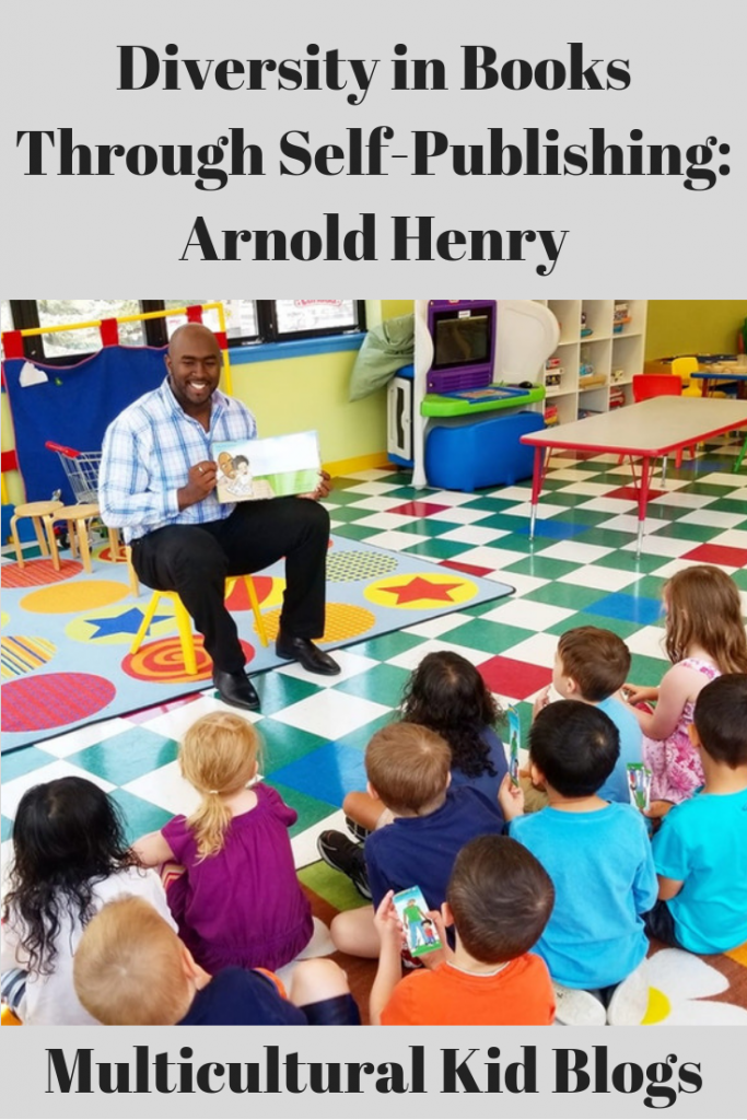 Diversity in Books Through Self-Publishing: Arnold Henry | Multicultural Kid Blogs