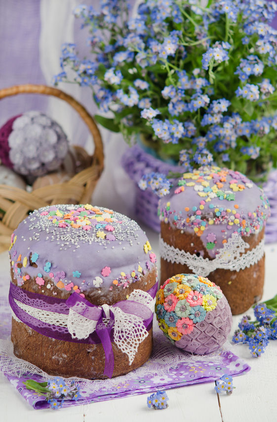 Kulich - Easter Foods from Around the World