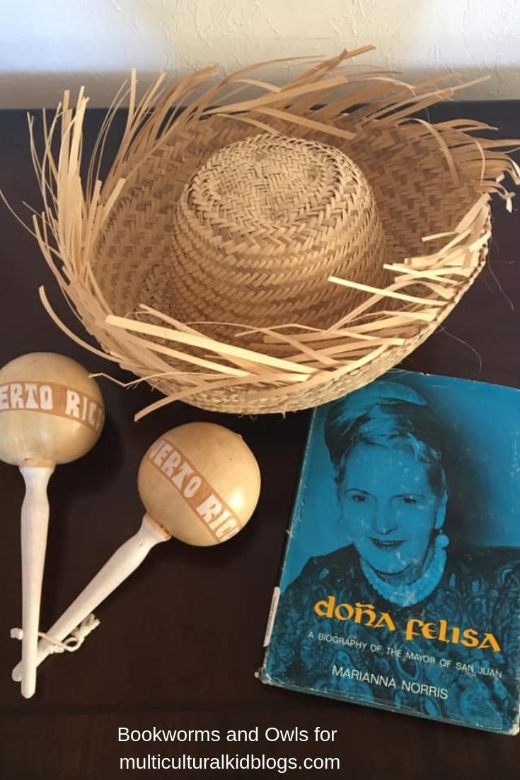 My copy of Doña Felisa: A Biography of the Mayor of San Juan by Marianna Norris. Photo by Yolimari García.