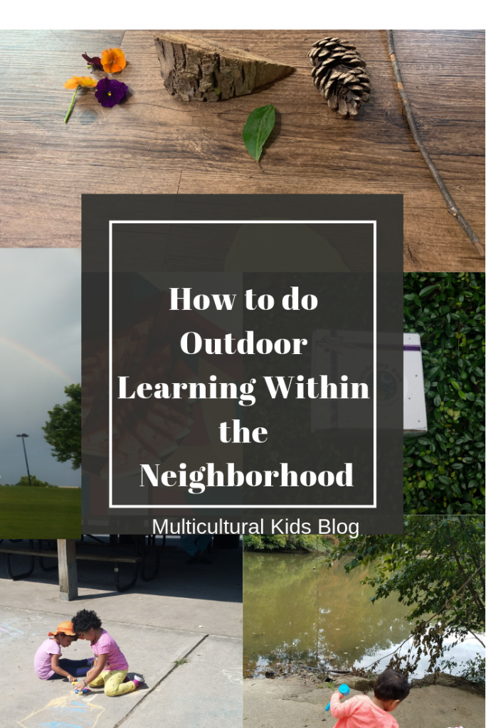 How to do Outdoor Learning Within the Neighborhood