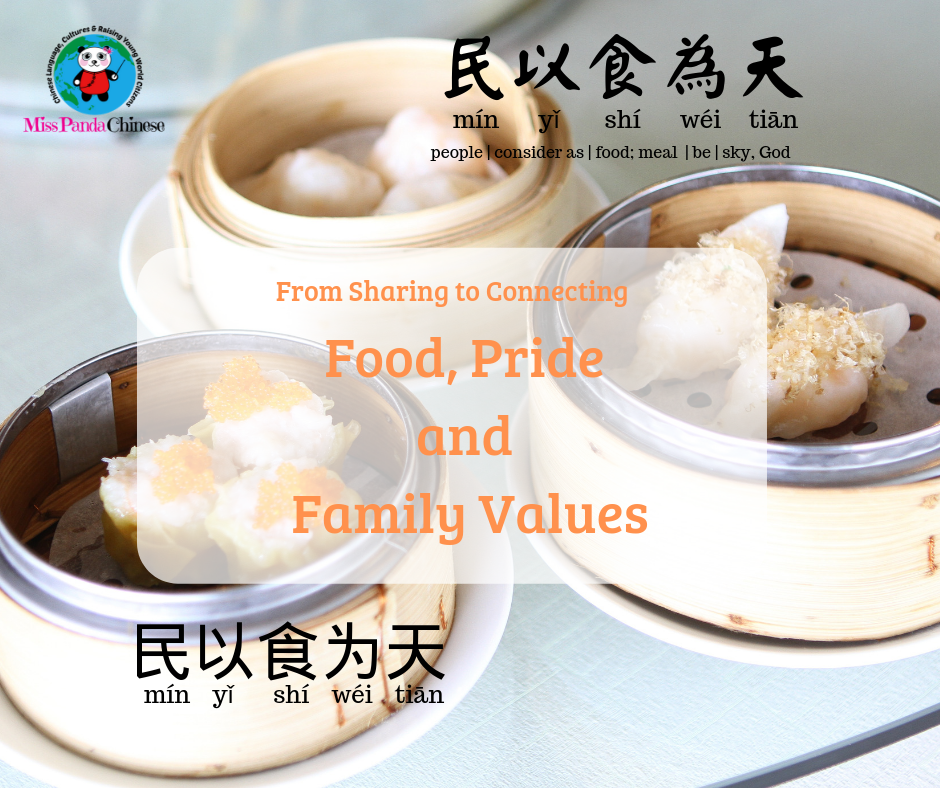 Food Pride and Family Values | Miss Panda Chinese