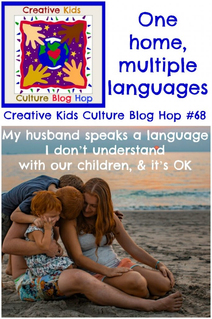 My husband speaks a language I don't understand with our children & it's OK, CKCBH 68