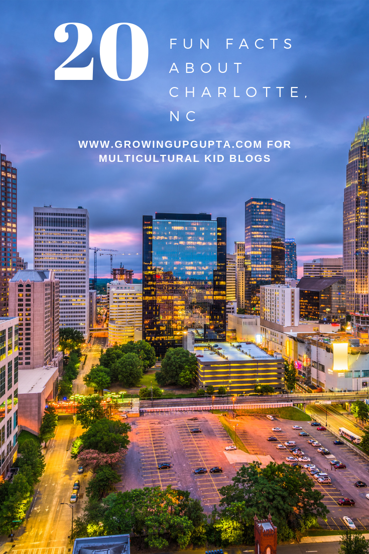 20 Fun Facts About Charlotte NC | multioculturalkidblogs.com