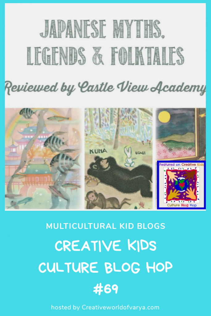 Japanese Myths on Creative Kids Culture Blog Hop