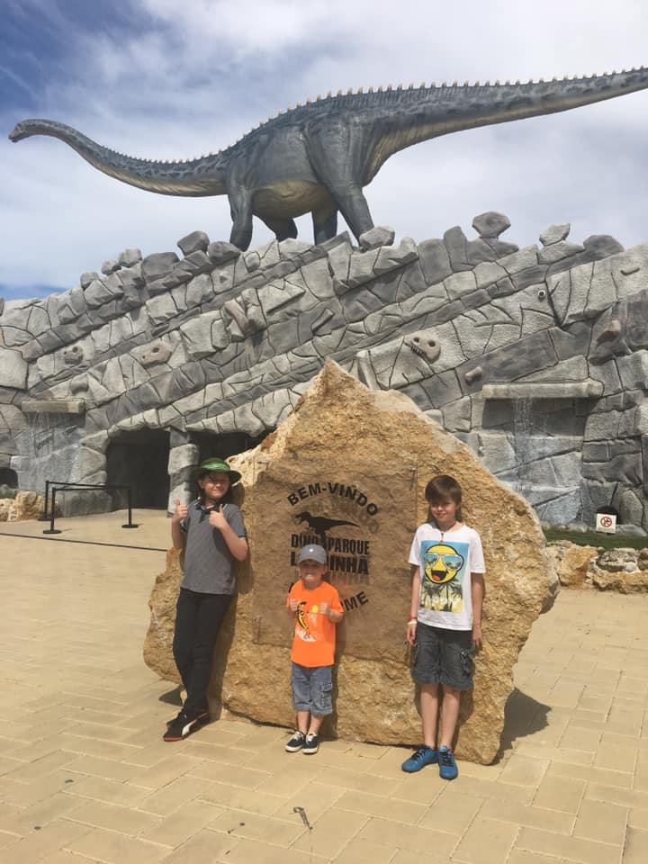 Dino Parque visit