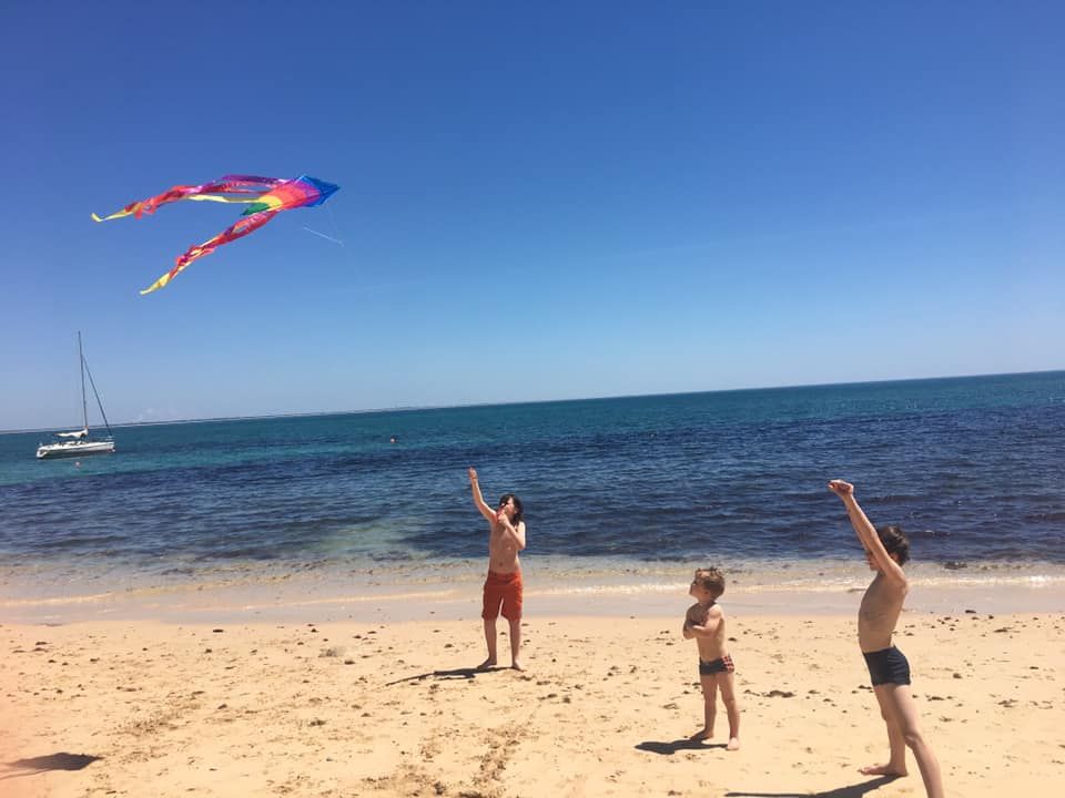 Kite flying | Tips for International travel with Children