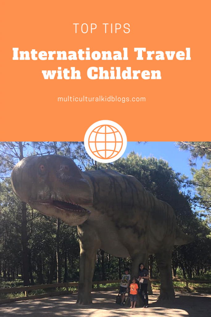 Top tips for international travel with children
