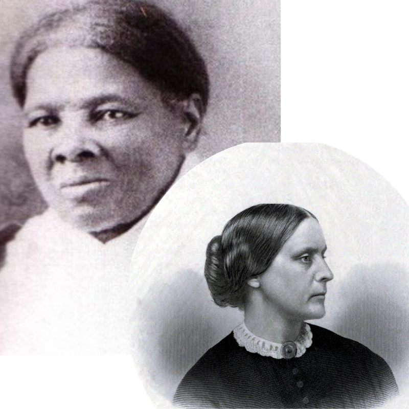 Harriet Tubman and Susan B Anthony | Multicultural Kid Blogs