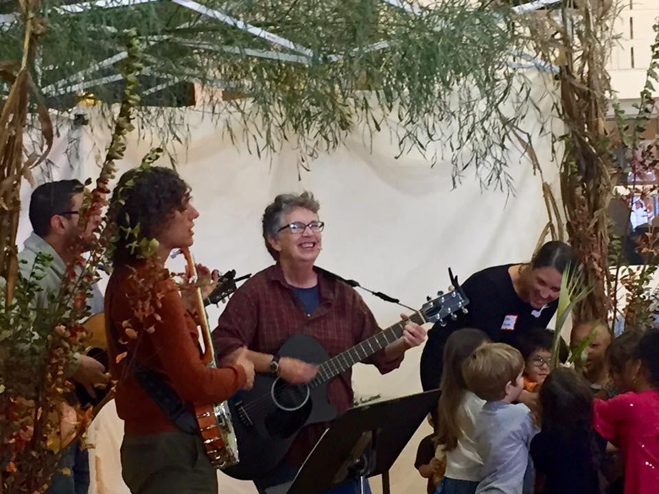 Singing in a Sukkah