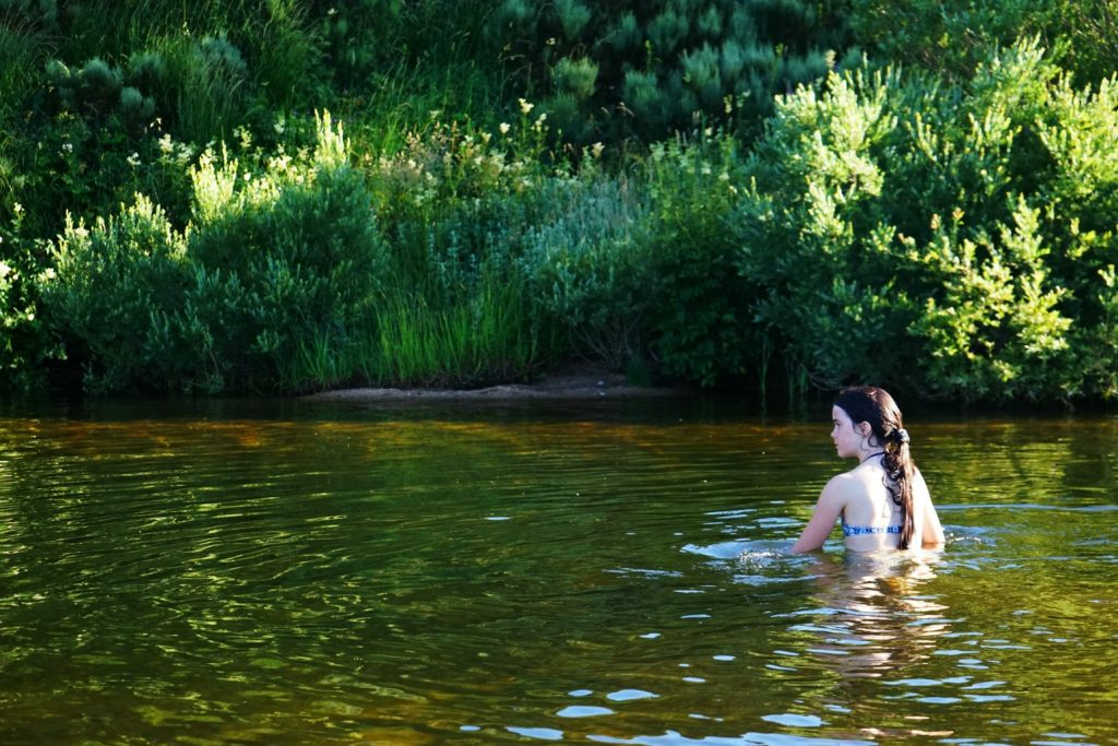 Swimming in a lake | MKB