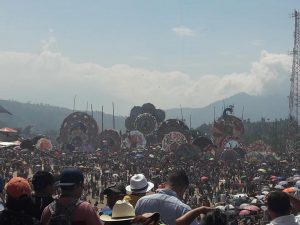 sumpango kite festival crowds